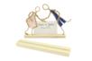 Socle en bois avec une fente - Marques-place – 10doigts.fr