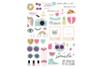 Stickers Licorne et été  - 86 stickers - Décorations Licorne et Arc-en-ciel – 10doigts.fr