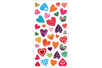 Stickers coeurs 3D - 38 stickers - Stickers Fantaisies – 10doigts.fr