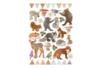 Stickers animaux de la forêt réaliste - Gommettes animaux - 10doigts.fr