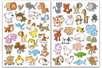 Gommettes animaux rigolos - Gommettes Animaux – 10doigts.fr