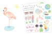 Stickers Summer Plage - 56 stickers - Décorations Printemps - Eté – 10doigts.fr