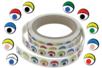Gommettes yeux fantaisie multicolores- 500 Stickers - Gommettes Yeux et Visages - 10doigts.fr