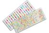 Strass adhésifs ronds - 6 mm ou 1 cm - Stickers strass, cabochons – 10doigts.fr