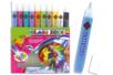 Stylos de peinture repositionnable - 10 couleurs - Peinture Verre et Faïence – 10doigts.fr