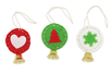 Kit création boules clochette en feutrine - Set de 6 - Kits et Activités de Noël – 10doigts.fr
