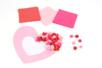 Suspension coeur en papier de soie - Kits créatifs prêt à l'emploi – 10doigts.fr