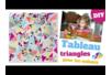 Tableau triangles - Activités enfantines – 10doigts.fr