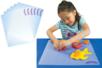 Tapis de modelage en plastique - Set de 6 - Outils de Modelage – 10doigts.fr