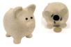 Tirelire cochon en papier mâché 12 cm - Animaux en papier mâché – 10doigts.fr