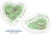 Coupelles coeur en terre cuite blanche - Lot de 4 - Céramiques – 10doigts.fr