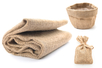 Toile de jute naturelle - 1 x 1,25 m - Support textile à customiser – 10doigts.fr