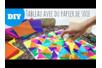 Tableau avec du papier de soie mouillé - Activités enfantines – 10doigts.fr