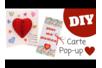 Carte Pop Up Coeur 3D - Fête des Mères – 10doigts.fr