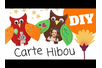 Carte Hibou - Fête des Mères – 10doigts.fr