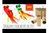 Dragons cracheurs de feu - Activités enfantines – 10doigts.fr