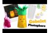 Photophores Ananas et Licorne avec des gobelets en plastique - Activités enfantines – 10doigts.fr