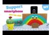 Support pour Smartphone Arc en ciel - Activités enfantines – 10doigts.fr