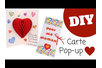 Carte Pop-up Coeur 3D - Compliments, cartes... – 10doigts.fr