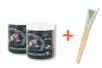 Peinture magnétique - 2 pots   + CADEAU : un pinceau brosse à poils courts - Peinture Magnétique 10043 - 10doigts.fr