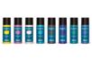Acryl Opak 80 ml - set de 8 couleurs complémentaires : jaune citron, parme, chair, turquoise, marron, violet, vert foncé, bleu foncé - Acryliques scolaire - 10doigts.fr
