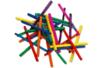 Allumettes couleurs assorties - 3 sets (1500 pièces) - Bâtonnets, tiges, languettes 15149 - 10doigts.fr