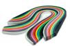 Bandes Quilling (x 280 ) - Longueur : 34,5 cm - 140 bandes de 4 mm et 140 de 8 mm - 14 couleurs - Quilling, paperolles - 10doigts.fr