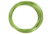 Fils en aluminium vert clair - L : 2 m - Ø 2 mm - Bijoux en fil alu 13637 - 10doigts.fr