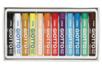Boîte de 12 pastels à l'huile GIOTTO - Pastels et Fusains 02959 - 10doigts.fr