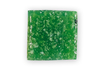 Mosaïques en pâte de verre 1 x 1 cm Vert foncé - 300 pces - Mosaïques pâte de verre 03239 - 10doigts.fr