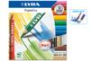 Crayons de couleurs LYRA Triple One - Boite de 12 - Crayons aquarelles 04859 - 10doigts.fr