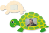 Cadre tortue en bois - Cadres photos 12565 - 10doigts.fr