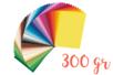 Cartes fortes 25 x 35 cm - 300 gr - 50  feuilles (1 par couleur) - Kirigami - 10doigts.fr