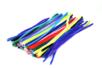 MAXI PACK : chenilles colorées 50 cm - Ø 6 mm (x 80) + Ø 9 mm (x 50) - Set de 130 - Chenilles, cure-pipe 03855 - 10doigts.fr