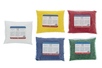 Cire bougie prête à l'emploi 340 gr , set de 5 couleurs assorties - Cires, gel  et bougies 03652 - 10doigts.fr