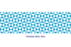 Coincoin tape (duck tape) auto-adhésif : Fantaisie blanc - bleu - Colles diverses - 10doigts.fr