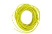 Cordon en coton ciré jaune- 5 m - Ø 1 mm - Coton 05856 - 10doigts.fr