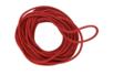 Cordon en coton ciré rouge - 5 m - Ø 2 mm - Coton 07734 - 10doigts.fr