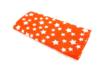 Coupon de tissu en coton imprimé ( 43 x 53 cm ) - Etoile blanche sur fond rouge - Coupons de tissus 30119 - 10doigts.fr