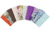 Coupons de tissu en coton imprimé (43 x 53 cm) - 10 motifs assortis - Coupons de tissus - 10doigts.fr