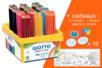Crayons Giotto Colors 3.0 - Classpack de 192 crayons  + CADEAU d'une Fresque géante + 12 toupies à colorier - Crayons de couleurs 33156 - 10doigts.fr