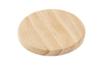 Set de 6 dessous de verre ou de bouteille ronds, en bois - Cuisine et vaisselle 05328 - 10doigts.fr