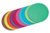 Feuilles rondes ø 10 cm - Lot de 100 - Papiers Origami - 10doigts.fr