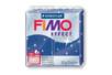 Fimo Effect 57gr - bleu pailleté - N° 302 - Fimo Effect 05829 - 10doigts.fr