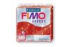 Fimo Effect 57gr - rouge pailleté - N° 202 - Fimo Effect 05828 - 10doigts.fr