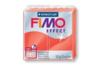 Fimo Effect 57gr - rouge translucide - N° 204 - Fimo Effect 02241 - 10doigts.fr