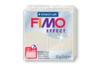 Fimo Effect 57gr - blanc métallisé - N° 08 - Fimo Effect 02232 - 10doigts.fr