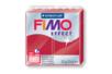 Fimo Effect 57gr - rouge rubis métallisé - N° 28 - Fimo Effect 02234 - 10doigts.fr