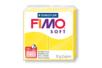 Fimo Soft 57gr - jaune citron - N° 10 - Fimo Soft 05802 - 10doigts.fr