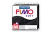 Fimo Soft 57gr - noir - N° 9 - Fimo Soft 05819 - 10doigts.fr
